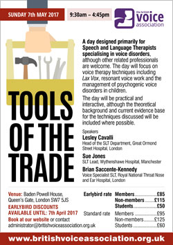 Tools of the trade - poster