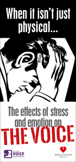 The effects of stress and emotion on the voice (leaflet cover)