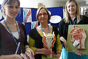 World Voice Day at St Margaret's Hospital, Epping