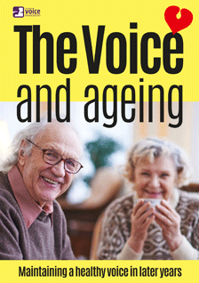 The Voice & Ageing (leaflet cover)